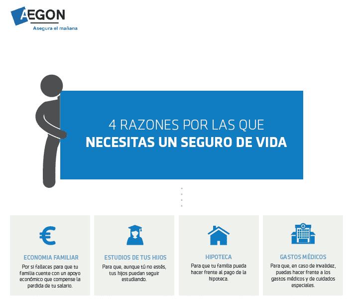 Aegon -4 razones por las que necesitas un Seguro de Vida