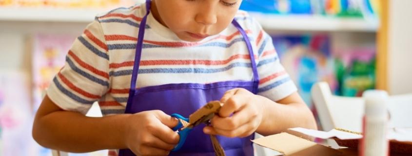 actividades niños para hacer manualidades