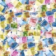 billetes de 10, 20, 50, 100, 200 y 500 euros