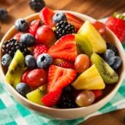 fruta para combatir el calor