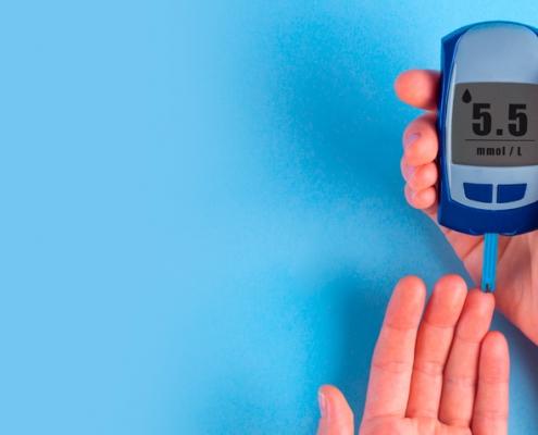 Medidor diabetes