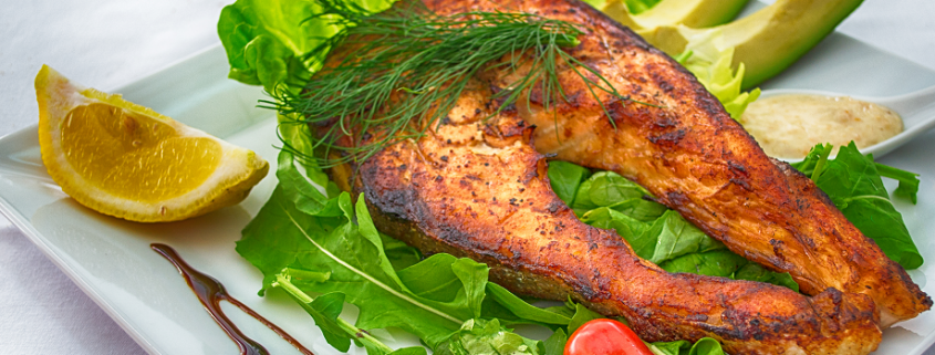 ejemplo de plato en una dieta cetogenica