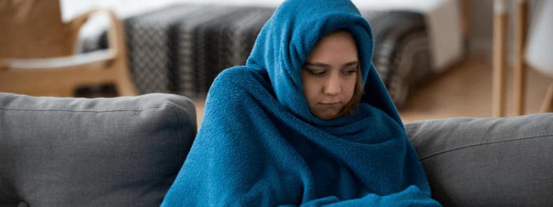 el malestar general en el resfriado comun