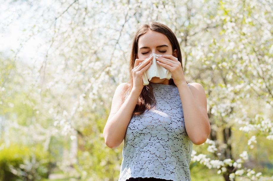 sintomas de alergia primaveral