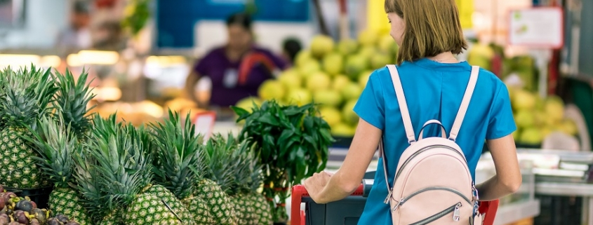 ejemplo del sesgo del anclaje en un supermercado