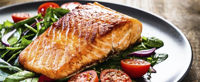 Vitamina D salmón