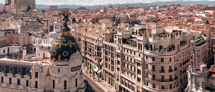 Contaminación en Madrid con el cornavirus