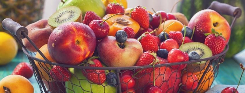 frutas y hortalizas de primavera
