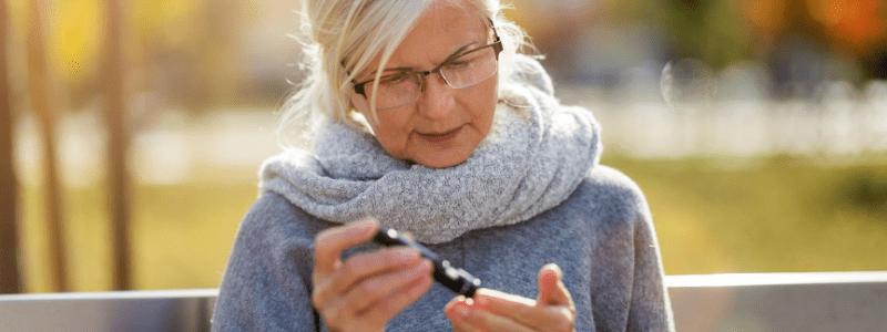 la diabetes mellitus es muy habitual entre los mayores de 45 años