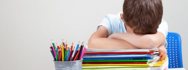la vuelta al colegio suele causar estres