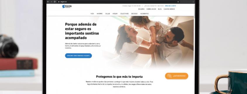nueva web aegon
