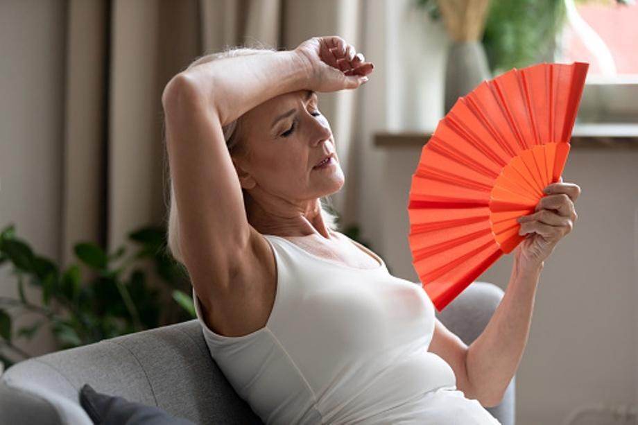 Los sofocos preocupan en la menopausia