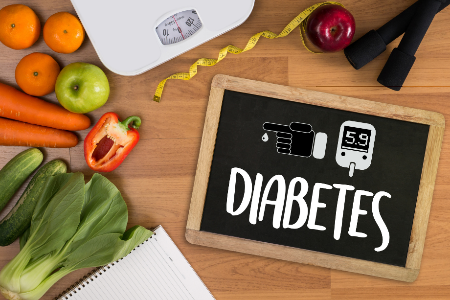 La dieta para la diabetes es fundamental