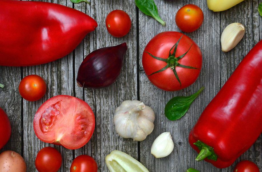 Las hortalizas aportan frescura a la ensalada campera