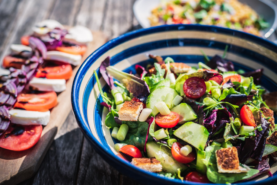 recetas de ensaladas de verano fáciles